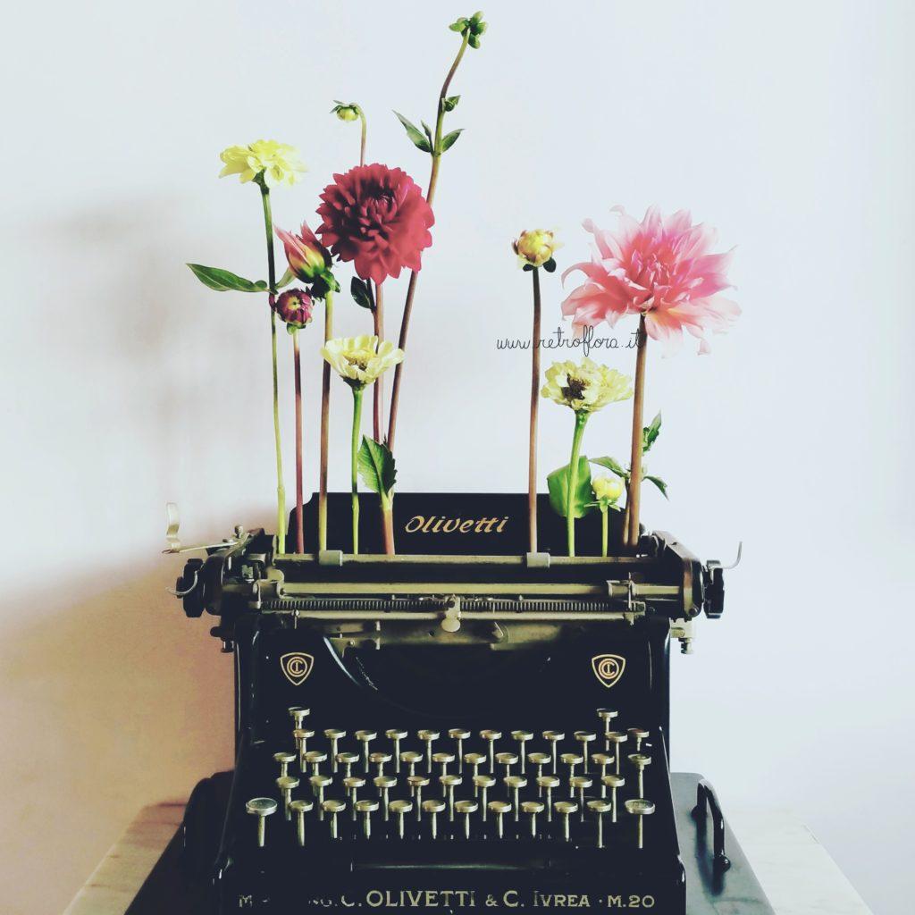 Flowers She Wrote - Retroflora
