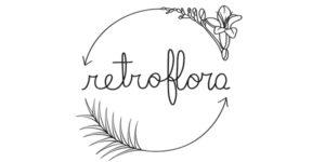 Il Logo Retroflora, di Veronica Grasso, illustrato da Fernando Cobelo, Retroflora Logo