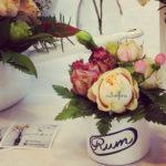 composizioni floreali vintage, composizioni vintage, vintage flowers