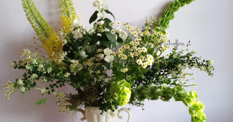 Un groviglio di fiori scomposti sta sempre lì a solleticarmi l'anima